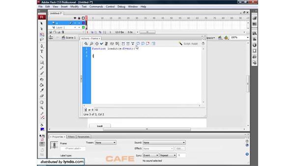 Loading dynamic images: Flash CS3 for Designers