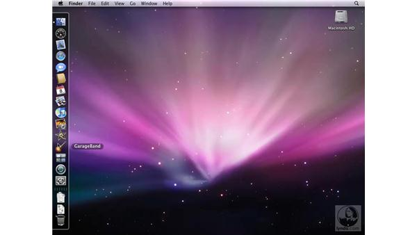 Working with the Leopard desktop: Mac OS X 10.5 Leopard New Features