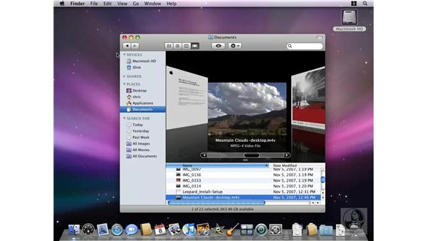 Understanding the new Finder: Mac OS X 10.5 Leopard New Features