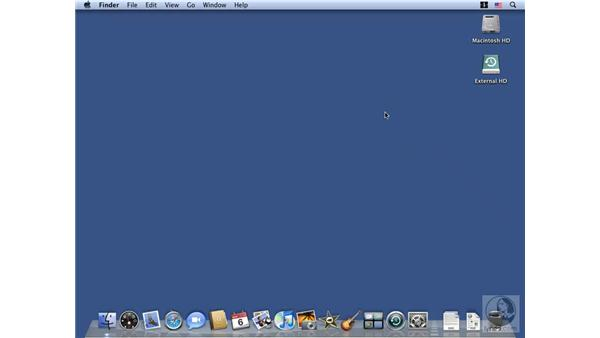 Working with Trash and Eject: Mac OS X 10.5 Leopard Essential Training