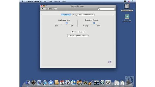Configuring Hardware System Preferences: Mac OS X 10.5 Leopard Essential Training