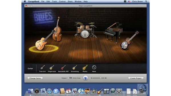 GarageBand: Mac OS X 10.5 Leopard Essential Training