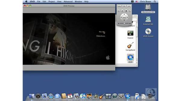 iDVD: Mac OS X 10.5 Leopard Essential Training
