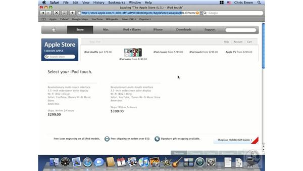 Introduction to Safari: Mac OS X 10.5 Leopard Essential Training