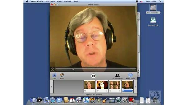 Using Photo Booth: Mac OS X 10.5 Leopard Essential Training