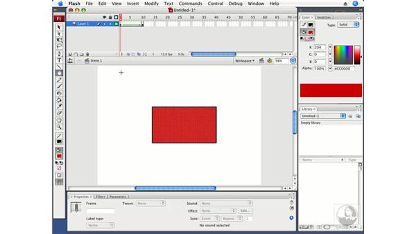 Understanding the Flash animation workflow: Flash CS3 Professional Fundamentals