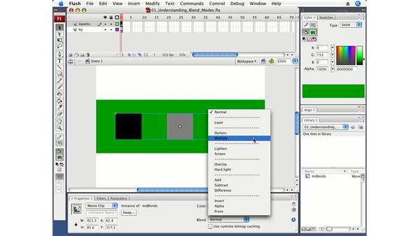 Understanding blend modes: Flash CS3 Professional Fundamentals