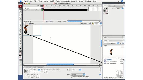 Animating a VideoClip: Flash CS3 Professional Beyond the Basics