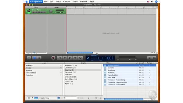 Adding music to a menu: iDVD '08 Essential Training