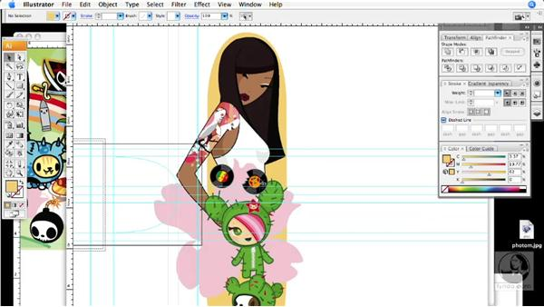 Skate Deck: Building a Design: Creative Inspirations: tokidoki, Character Illustrator