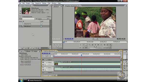 Controlling audio while scrubbing: Premiere Pro CS3 Beyond the Basics