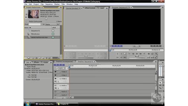 Understanding the media cache: Premiere Pro CS3 Beyond the Basics