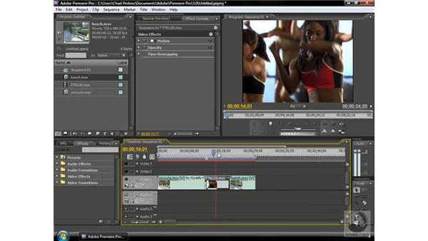 Using slip edits: Premiere Pro CS3 Beyond the Basics