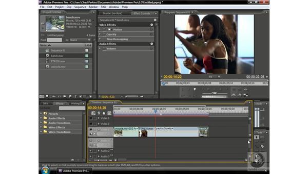 Using slide edits: Premiere Pro CS3 Beyond the Basics