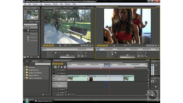 Using lift edits and extract edits: Premiere Pro CS3 Beyond the Basics
