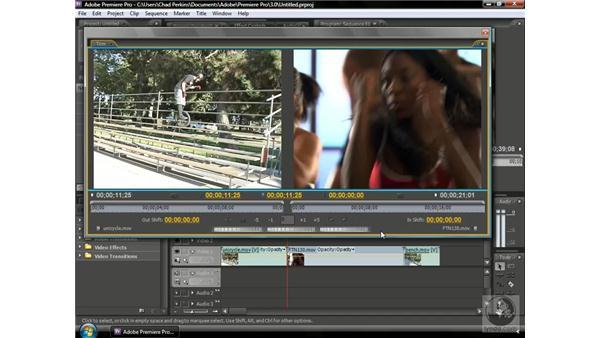 Using the Trim Monitor: Premiere Pro CS3 Beyond the Basics