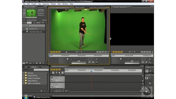Using subclips: Premiere Pro CS3 Beyond the Basics