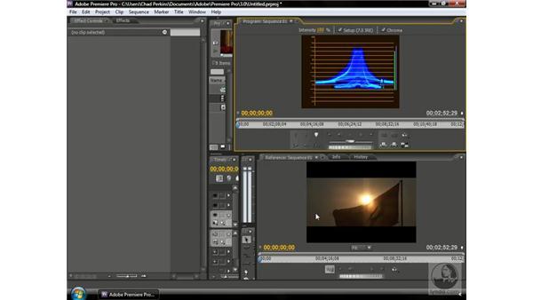 Using a Waveform Monitor: Premiere Pro CS3 Beyond the Basics