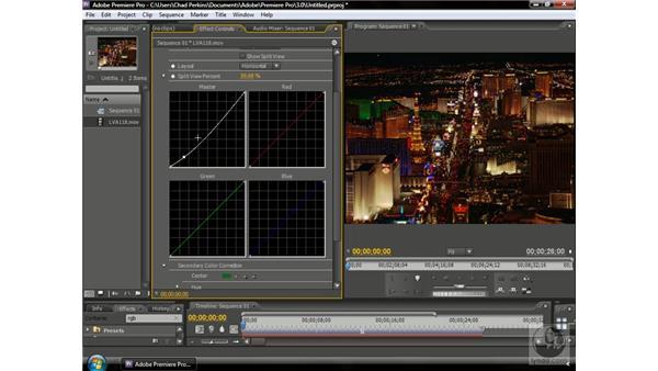 Using RGB Curves effects: Premiere Pro CS3 Beyond the Basics