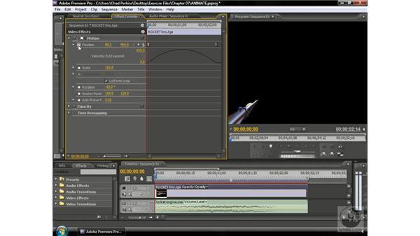 Understanding different keyframe types: Premiere Pro CS3 Beyond the Basics