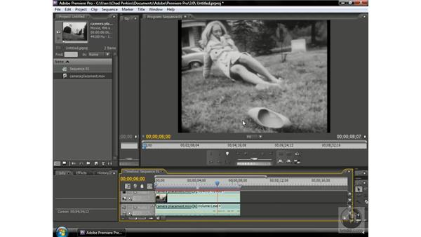 Telling a story with camera placement: Premiere Pro CS3 Beyond the Basics