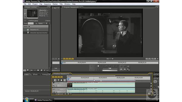 Using character expressions: Premiere Pro CS3 Beyond the Basics