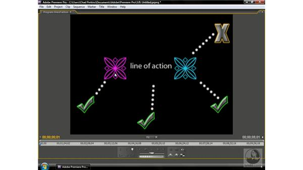 Crossing the line of action: Premiere Pro CS3 Beyond the Basics