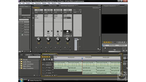 Understanding audio in Premiere: Premiere Pro CS3 Beyond the Basics