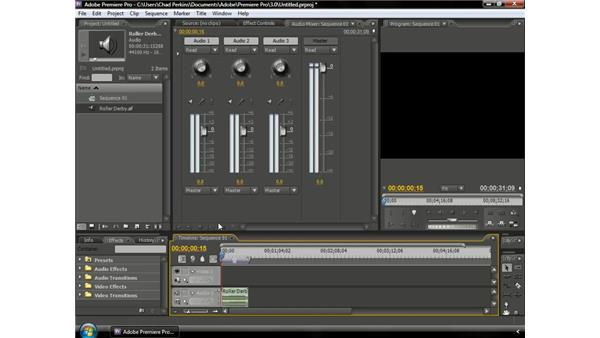 Understanding VU meters: Premiere Pro CS3 Beyond the Basics