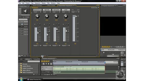 Automating the mix: Premiere Pro CS3 Beyond the Basics