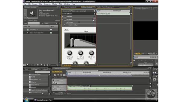 Understanding VST effects: Premiere Pro CS3 Beyond the Basics