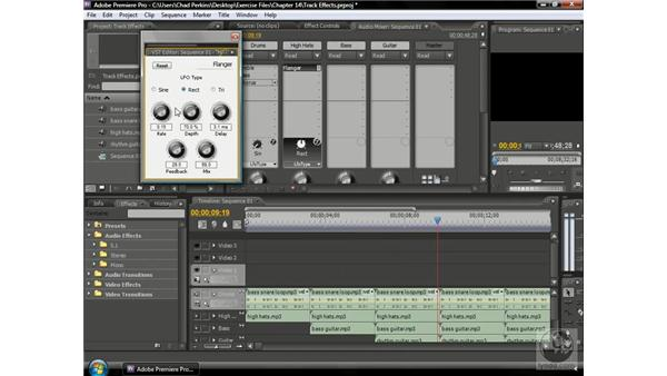 Understanding track-based effects: Premiere Pro CS3 Beyond the Basics