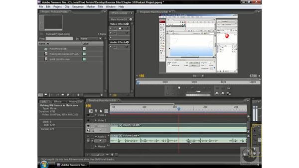 Cleaning up dead space: Premiere Pro CS3 Beyond the Basics