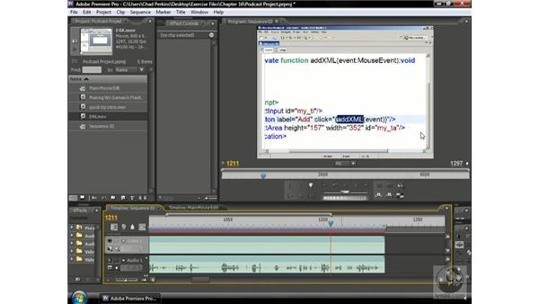 Fixing video mistakes: Premiere Pro CS3 Beyond the Basics