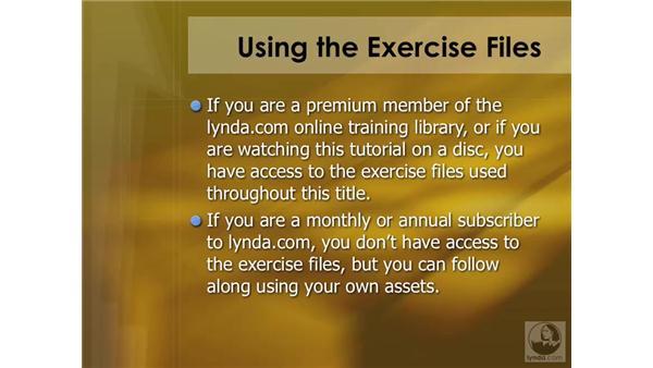 Using the exercise files: DVD Studio Pro 4 Essential Training