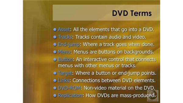 Understanding DVD terminology: DVD Studio Pro 4 Essential Training