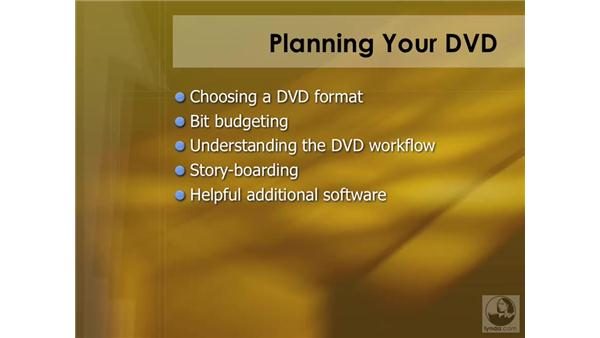 Introducing planning: DVD Studio Pro 4 Essential Training