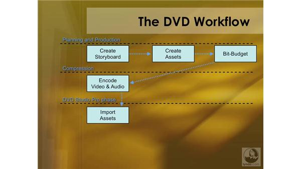 Understanding the DVD workflow: DVD Studio Pro 4 Essential Training