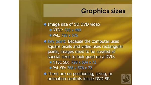 Preparing graphic assets: DVD Studio Pro 4 Essential Training