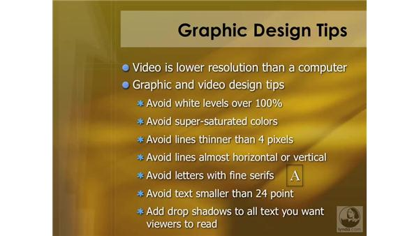 DVD graphic design tips: DVD Studio Pro 4 Essential Training