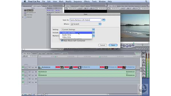 Exporting from Final Cut Pro: DVD Studio Pro 4 Essential Training