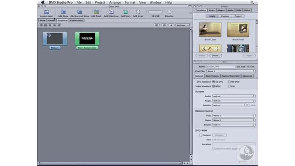 Previewing your DVD: DVD Studio Pro 4 Essential Training