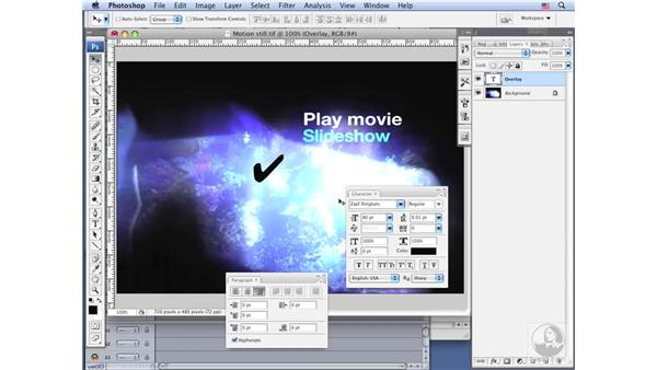 Creating a motion menu in Motion: DVD Studio Pro 4 Essential Training