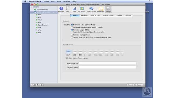 Understanding server administration: Mac OS X Server 10.5 Leopard Essential Training