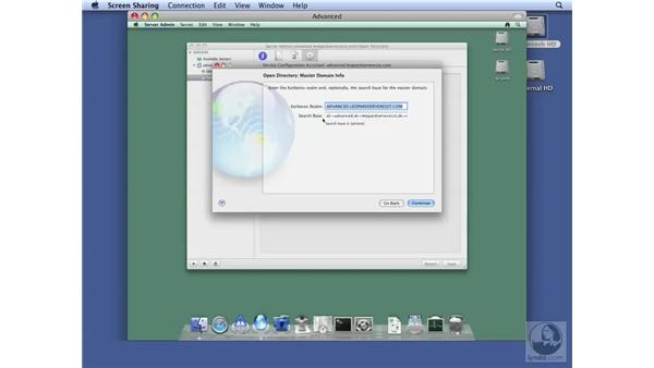 Configuring Open Directory on Advanced Server: Mac OS X Server 10.5 Leopard Essential Training