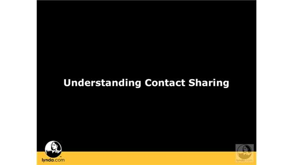 Understanding shared contact services: Mac OS X Server 10.5 Leopard Essential Training