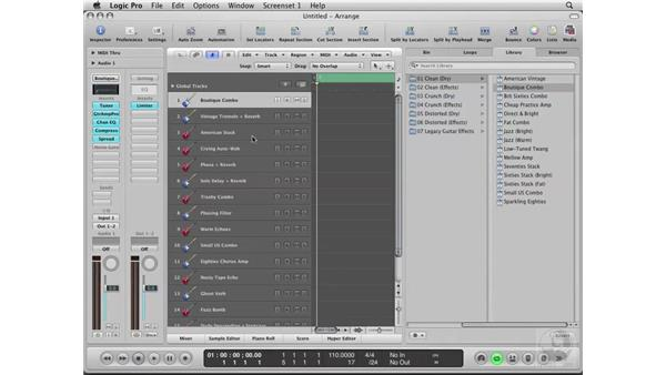 Launching Logic for the first time: Logic Pro 8 Essential Training