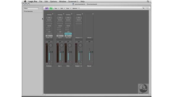 Verifying MIDI input: Logic Pro 8 Essential Training