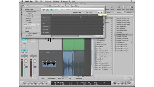 Understanding Logic's window structure: Logic Pro 8 Essential Training
