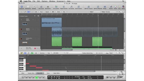 Editing MIDI Loops: Logic Pro 8 Essential Training